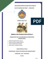 proyecto apicola 2013