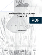 Intelectuales y Peronismo