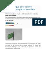 La Dominique Pour La Libre Circulation de Personnes Dans l