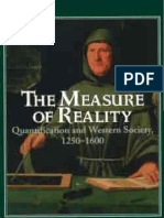 Crosby Alfred the Measure of Reality Quantification Western Society 1250 1600