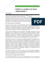 Haiti Et La Zone PetroCaribe