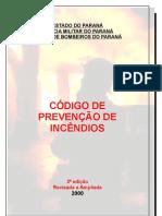 Código de Prevenção de Incêndios - CCB