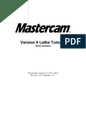 Mastercam.