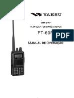 Manual Yaesu FT 60R (ptbr)