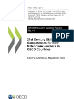 21st Century Skills and Competences for New Millennium Learners in OECD Countries