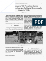 Development of DC Power Line Carrier  Communication Interface for Digital Networking for  Control of COIL