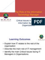 L01 Role of IT Manager Part I ae afef