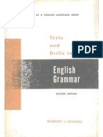 Test and Drills in English Grammar (Robert J. Dixson) 193p