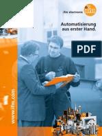 Automatisierung aus erster Hand - Neukundenbroschüre 2012