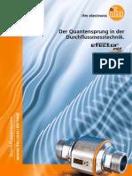 efector mid - Durchflusssensoren Broschüre Deutsch 2013