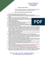 Manual Del Servicio de Estudio de Campo