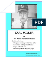 Carl Miller Constitutional Law