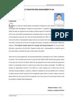 District Disaster Risk Management Plan - Cuddalore District, Tamil Nadu