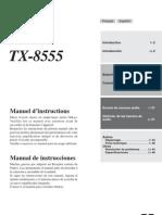 Manual Onkyo TX-8555