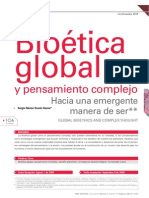 SNOsorio Bioética global y pensamiento comlejo