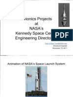 Avionics Projects at NASAs KSC Engineering Directorate