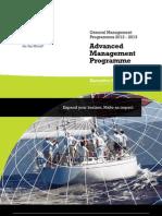 INSEAD - Advanced Management Programme