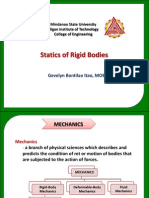 Statics of Rigid Bodies Chapter 1