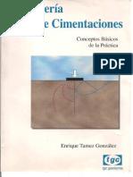 Ingenieria de Cimentaciones Enrique Tamez