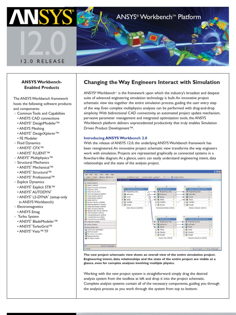 ANSYS 12 Workbench   Simulation   Computer Aided Design