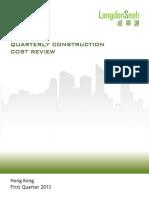 LS Construction Cost 2013 1stQ