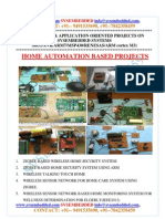 Latest_ Innovative_svsembedded_home Automation _based Projects List- 2013