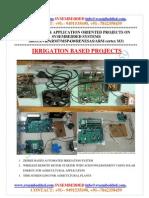 Latest_ Innovative_svsembedded_irrigation_ Based Projects List- 2013