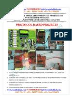 Latest_ Innovative_svsembedded_protocol Based Projects List- 2013