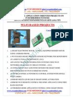Latest_ Innovative_svsembedded_wi-fi Based Projects List - 2013