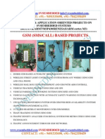 Latest Innovative Svsembedded Gsm Sms-call Based Projects-2013