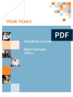 Metal Fabricator Program Outline Final 2010 RB