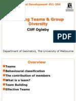 Teams and Groups-MBTI