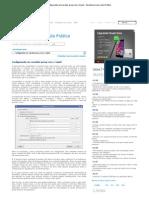 Configurando um servidor proxy com o Squid - Servidores Linux, Guia Prático