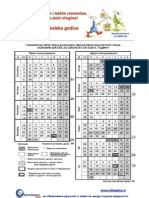 Tabelarni Kalendar 2013-2014 OS