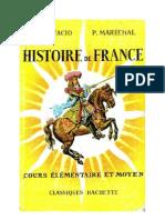 Histoire de France CE2-CM1 Bonifacio-Maréchal-Classiques Hachette