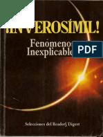 18170157 Inverosimil Fenomenos Inexplicableslibro Completo