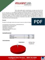 Intelligent Data Services - Audit Standard Template RV3