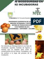 Medidas de Bioseguridad en Plantas Incubadoras