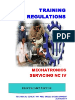 Mechatronics Servicing NC IV