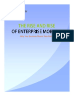 The Rise and Rise of Enterprise Mobility
