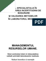 -Managementul Resurselor Umane. Rolul Cqi.