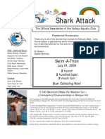 February-March 2009 Shark Attack Newsletter