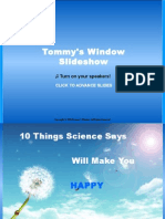 10 Things Science Says Will Make You Happy