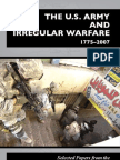 Sibul - The US Army and Irregular Warfare