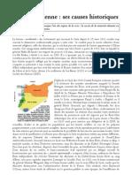 Annie Laurent - Les causes historiques de la crise syrienne