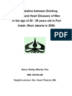 Alcohol and Heart Disease 1