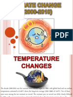 Climate Change (2000-2010)
