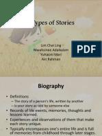 Autobiography, Folktales