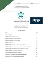 Acuerdo Reglamento Del Aprendiz