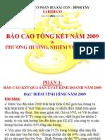 Bao Cao Tong Ket 2010 Dhcd 2010 Slide Show